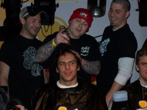 Taken by moi @ last year's Cut's for a Cause fundraiser.