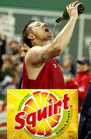 Squirt : The official Soft Drink of Jonathan Papelbon